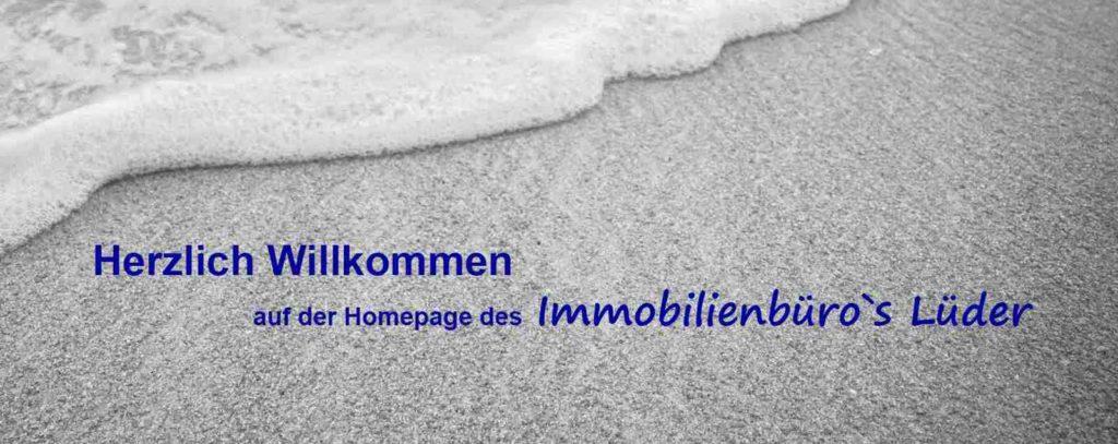 Herzlich Willkommen auf der Homepage des Immobilienbüro Lüder